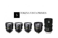 Tokina Vista Cinema Prime 5 lens set PL mount